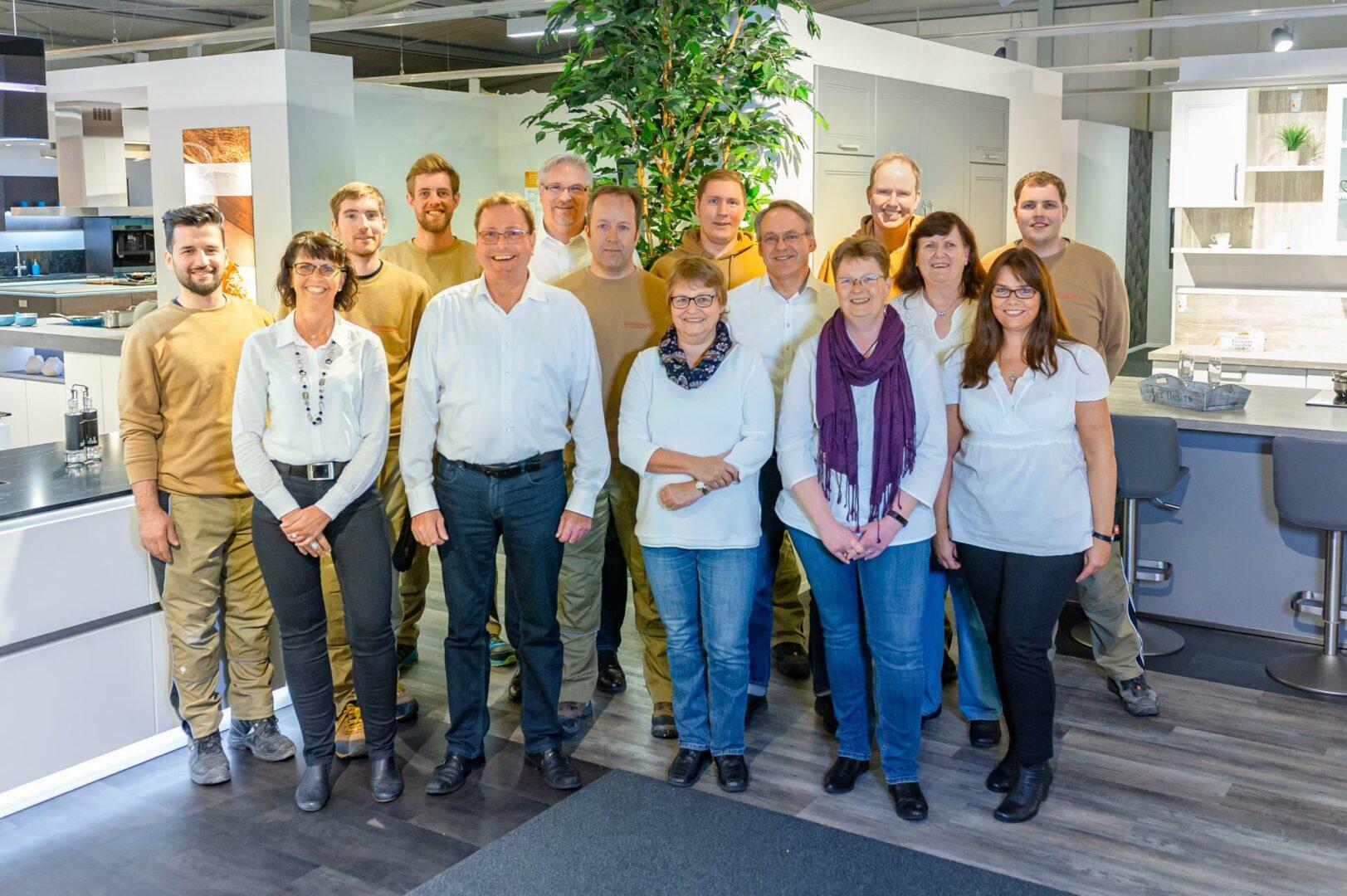 Das Team Von Küchen Hansen In Schleswig Holstein