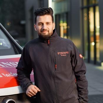 Mahmoud Shaker Küchenmonteur von Küchen Hansen