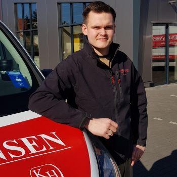 Philip Brauer Küchenmonteur von Küchen Hansen