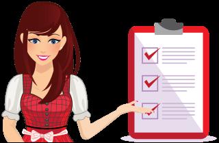 Icon für Schritt der Küchencheckliste - Profil abrufen