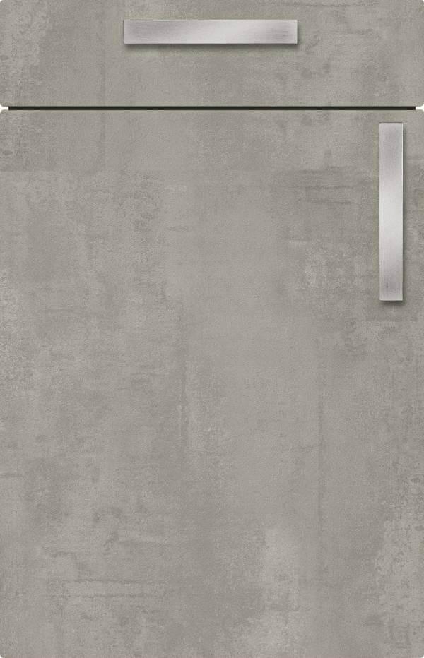 Kuechenfront Concrete Grey Betonoptik 126