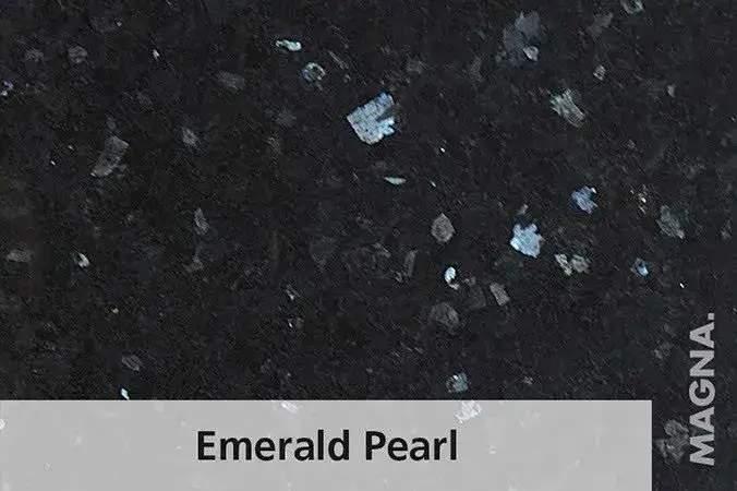 Naturstein Kuechenarbeitsplatte Emerald Pearl