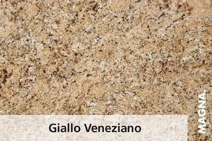Naturstein Kuechenarbeitsplatte Giallo Veneziano