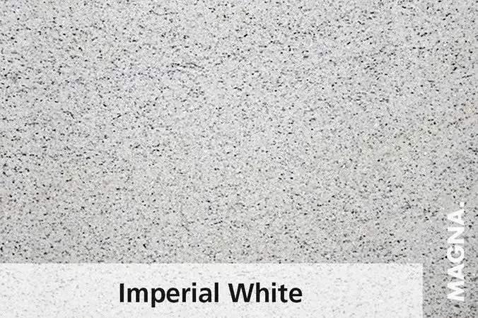 Naturstein Kuechenarbeitsplatte Imperial White