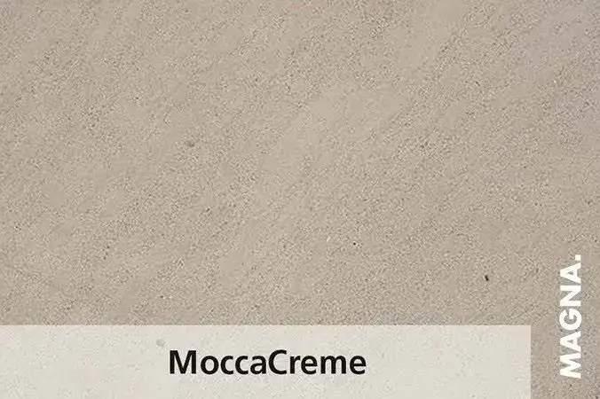 Naturstein Kuechenarbeitsplatte Moccacreme