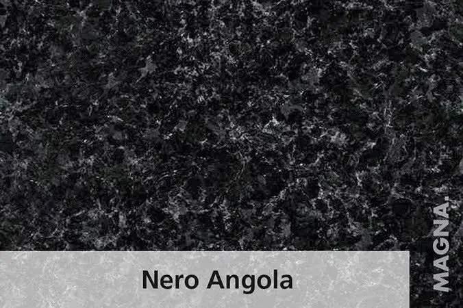 Naturstein Kuechenarbeitsplatte Nero Angola