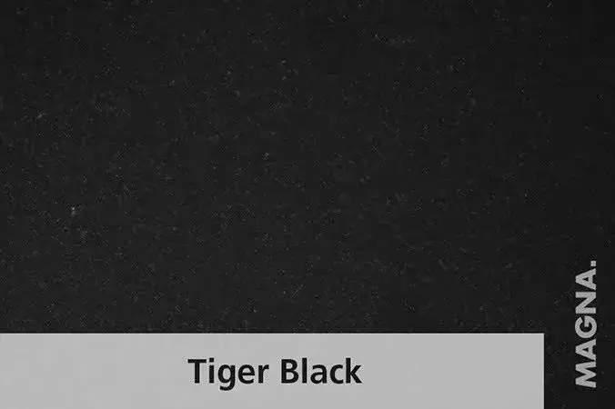 Naturstein Kuechenarbeitsplatte Tiger Black