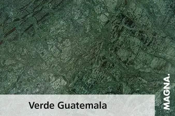 Naturstein Kuechenarbeitsplatte Verde Guatemala