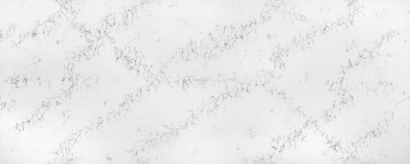 Quarzstein Kuechenarbeitsplatte Compac Bianco